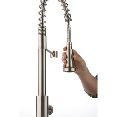 Flow Max™, Stainless Steel Spring Faucet