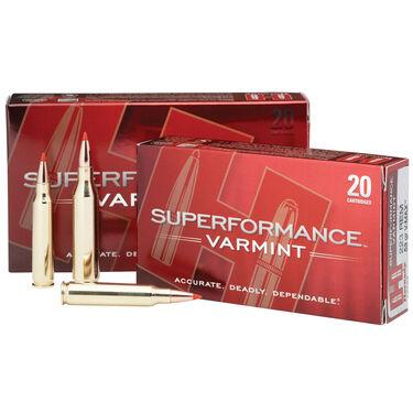 Hornady Superformance Varmint Ammo, .22-250 Rem, 50-gr., V-Max