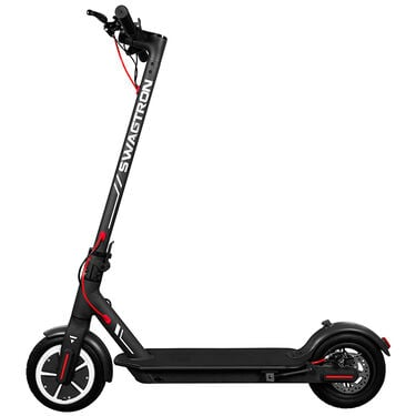 Swagger 5 Elite Electric Smart Scooter, Black