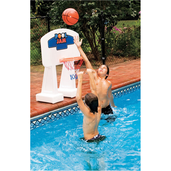 Swimline PoolJam Poolside Basketball Hoop, Inground Pools