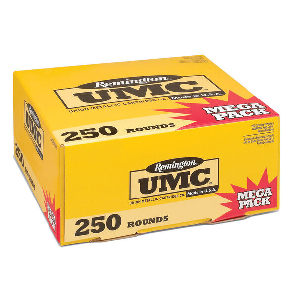 Remington UMC Handgun Ammunition Mega Pack, .40 S&W, 180-gr., FMJ, 250 Rounds