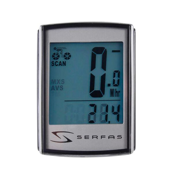 Serfas 19-Function Level 4+ Back-lit Wireless Cycling Computer