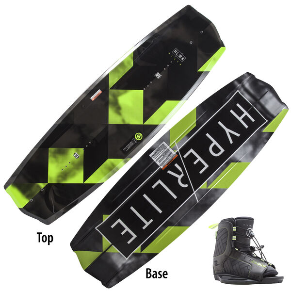 Hyperlite State 125 Wakeboard With Child Remix Bindings