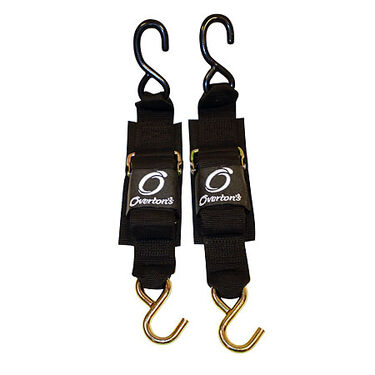 """Overton's Deluxe 2"""" x 6' Transom Tie-Downs, pair"""