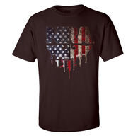 NRA Men's USA Flag Short-Sleeve Tee