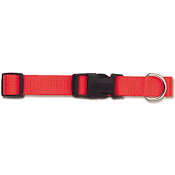 """Scott Pet Adjustable Nylon Collar, Medium, 3/4"""" Width x 10-16"""" Dia., Hot Orange"""