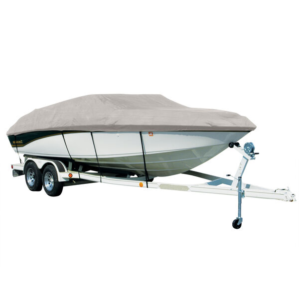 Covermate Hurricane Sharkskin Exact-Fit Nitro Boat Cover Fits 1997-2006 Nitro LX 700 SC Outboard w/Port Trolling Motor
