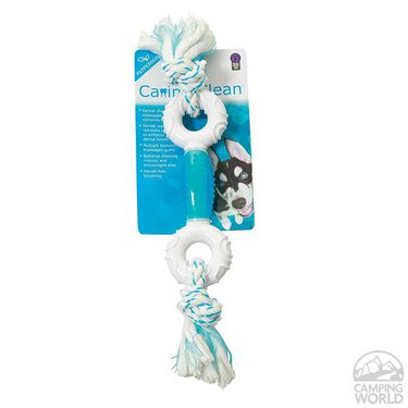 Canine Clean Peppermint Dumbbell Dog Toy