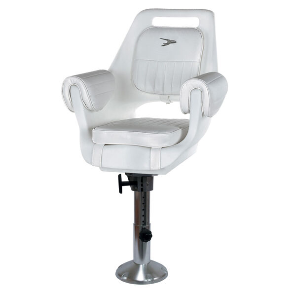 Wise Deluxe Pilot Chair With Adjustable Pedestal, Spider Mounting Plate
