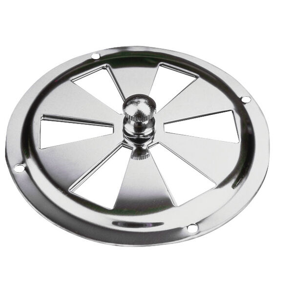 "Sea-Dog Stainless Steel Butterfly Vent, 4"" dia."