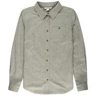 Ultimate Terrain Women's Explorer Heathered Flannel Long-Sleeve Shirt