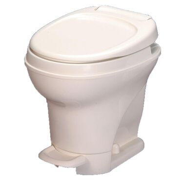 Aqua-Magic V Toilet High Profile Foot Flush