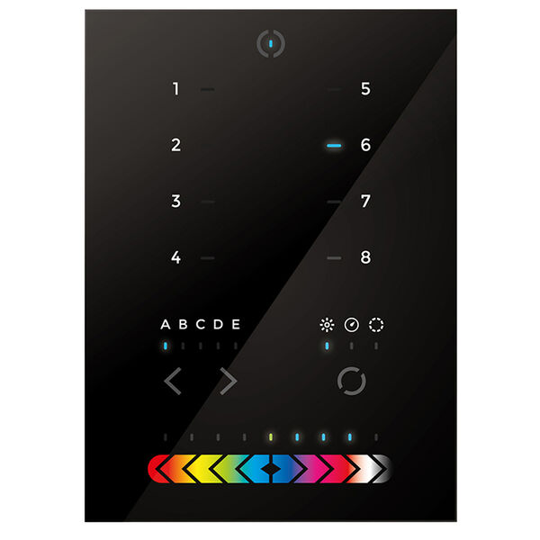 OceanLED Explore E6 WiFi DMX Touch Panel Controller Kit Dual - Blue & White