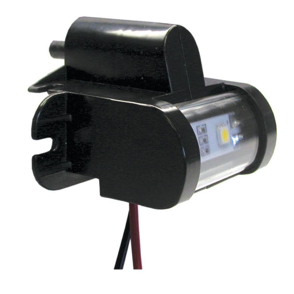 ITC Boat Marine RV Trailer LED Closet Light Black Finish W// Auto Plunger Switch