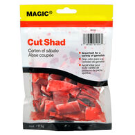Magic Preserved Cut Shad, 4-oz.