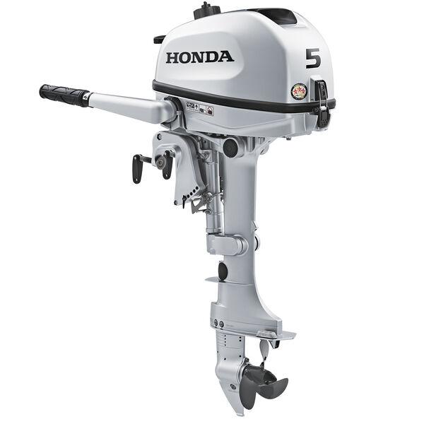 "Honda BF5 Portable Outboard Motor, 5 HP, 15"" Shaft"