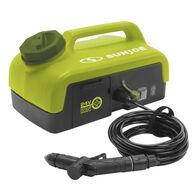 Sun Joe 24V iON+ Cordless Go-Anywhere Portable Sink/Shower Spray Washer Kit