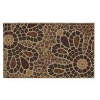 """Bohemian Coir Doormat, 18"""" x 30"""""""