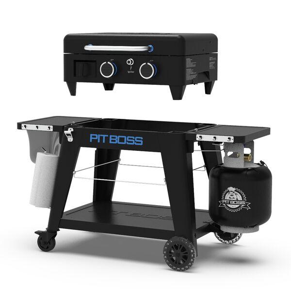 Pit Boss 2-Burner Ultimate Lift-Off Griddle