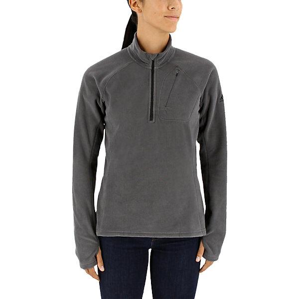 Adidas Women's Reachout Fleece Half-Zip Pullover
