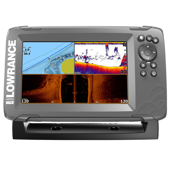 Lowrance HOOK2 7 Fishfinder/Chartplotter w/TripleShot Transducer & US Inland Map