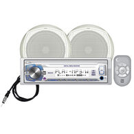 """Dual MCP105 USB/MP3/WMA Media Receiver With Two 6.5"""" Speakers"""