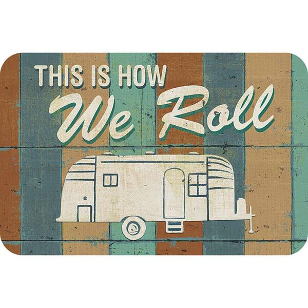 "Reversible Placemat, ""How We Roll"""