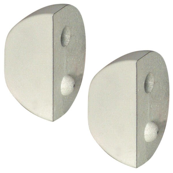 """Dockmate Small """"D"""" Profile Dock Cushion End Caps, pair"""