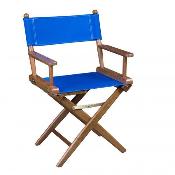 Whitecap Teak Director's Chair, Blue