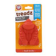 Arm & Hammer Treadz Dental Toy for Dogs, Small Gorilla