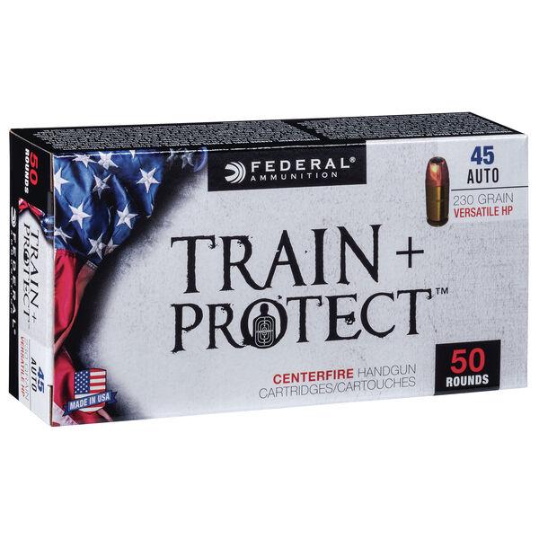 Federal Premium Train + Protect Handgun Ammunition, .45 ACP, 230-gr.