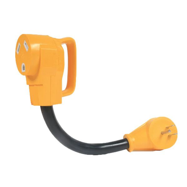 Camco Power Grip Adapter 15 Amp Male To 30 Amp Female Camping World
