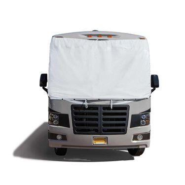 Windshield Cover with Mirror Cut-Outs, Class C, Chevy/GMC 2001 And Up