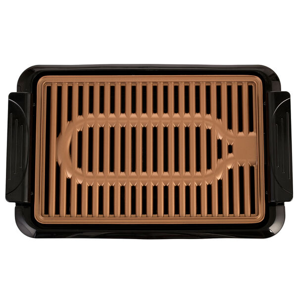 Brentwood TS-642 1000W Indoor Electric Copper Grill