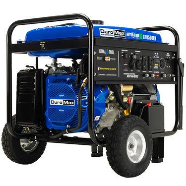 DuroMax Dual Fuel 8,500-Watt Electric Start Generator