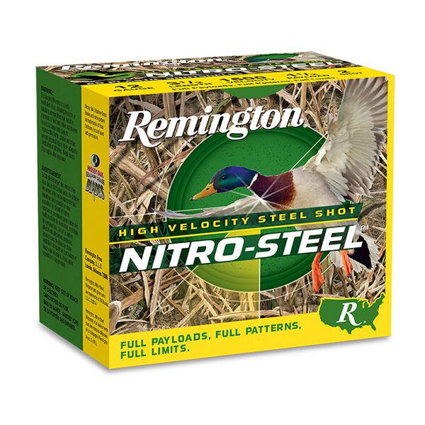 "Remington Nitro-Steel High-Velocity Steel Shot, 12-Ga., 3"", T Shot"