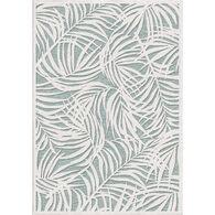 Orian Breezy Palms Natural Indoor/Outdoor Rug, Verde 5' x 8'