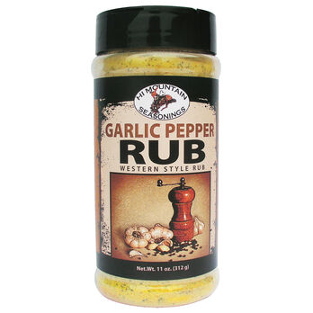 Hi Mountain Garlic Pepper Rub, 359