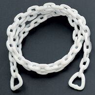 "Vinyl-Coated Anchor Chain, 5/16"" x 6', White"