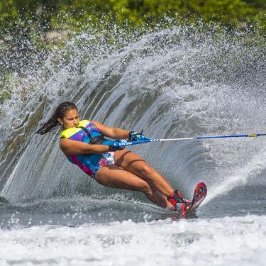 Radar Girl's Total Radar Awesomeness Slalom Waterski, Blank