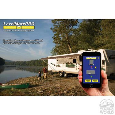 LevelMatePRO Wireless Vehicle Leveling System, 2nd Generation with On/Off Switch