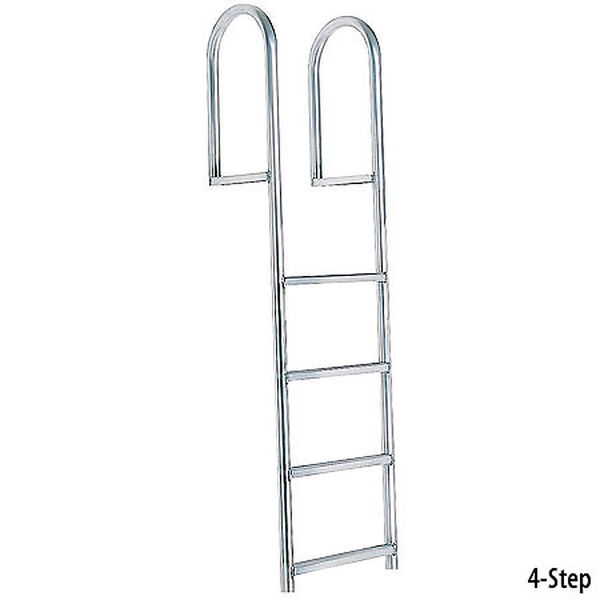 International Dock Stationary Dock Ladder, 4-Step