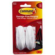 Command Designer Medium Hooks - 2 Pack