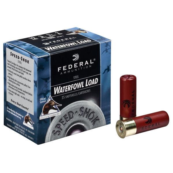 "Federal Premium Speed-Shok Steel Waterfowl Loads, 12-ga., 3-1/2"", 1-3/8 oz., #2"