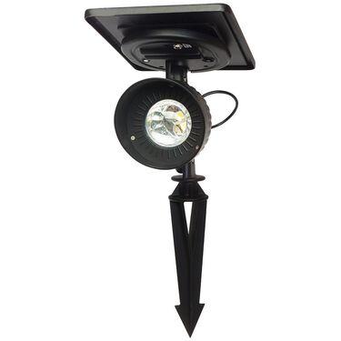 Progressive Solar Spotlight, Bright White LED