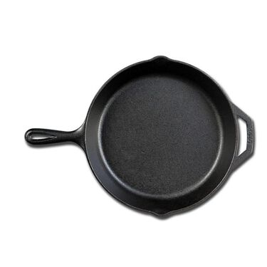"""Lodge Cast Iron Seasoned 10.25"""" Skillet with Assist Handle"""