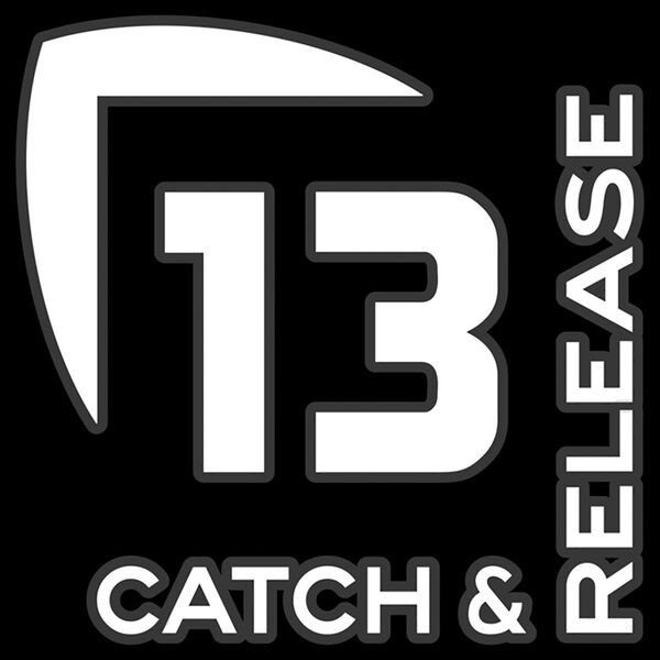 13 Fishing Catch & Release Decal