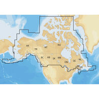 Navionics+ Cartography, Canada And Alaska