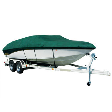 Exact Fit Covermate Sharkskin Boat Cover For CROWNLINE 215 CCR CUDDY
