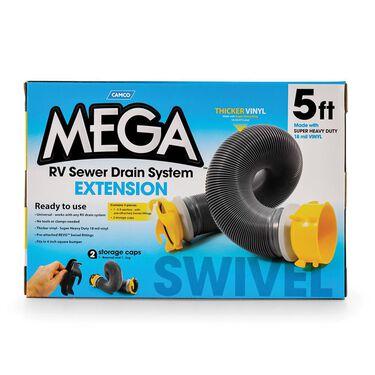 Sewer Hose Extension, Mega 5'L